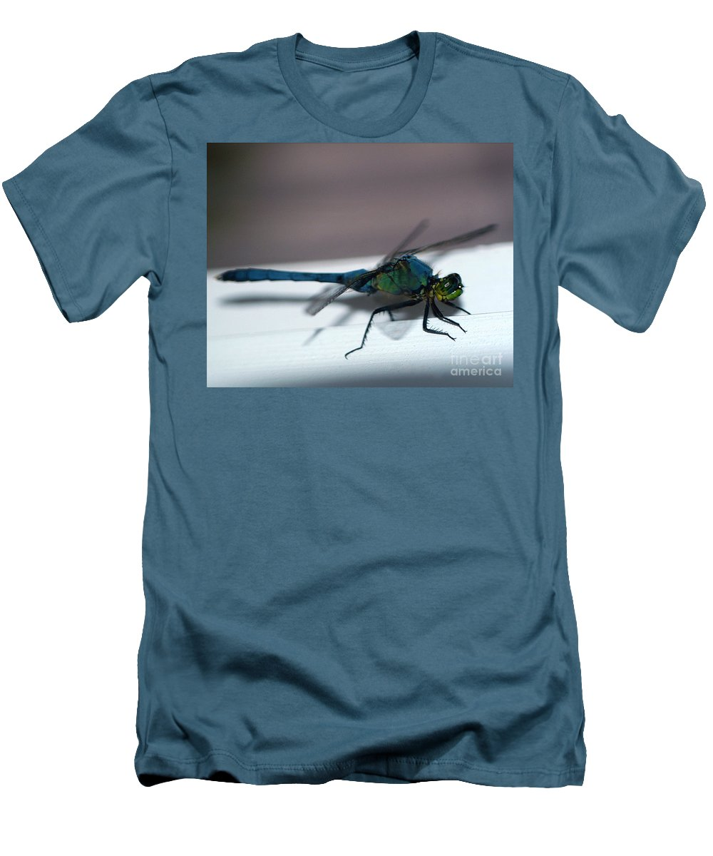 Clay Men's T-Shirt (Athletic Fit) featuring the photograph Colorful Dragon by Clayton Bruster