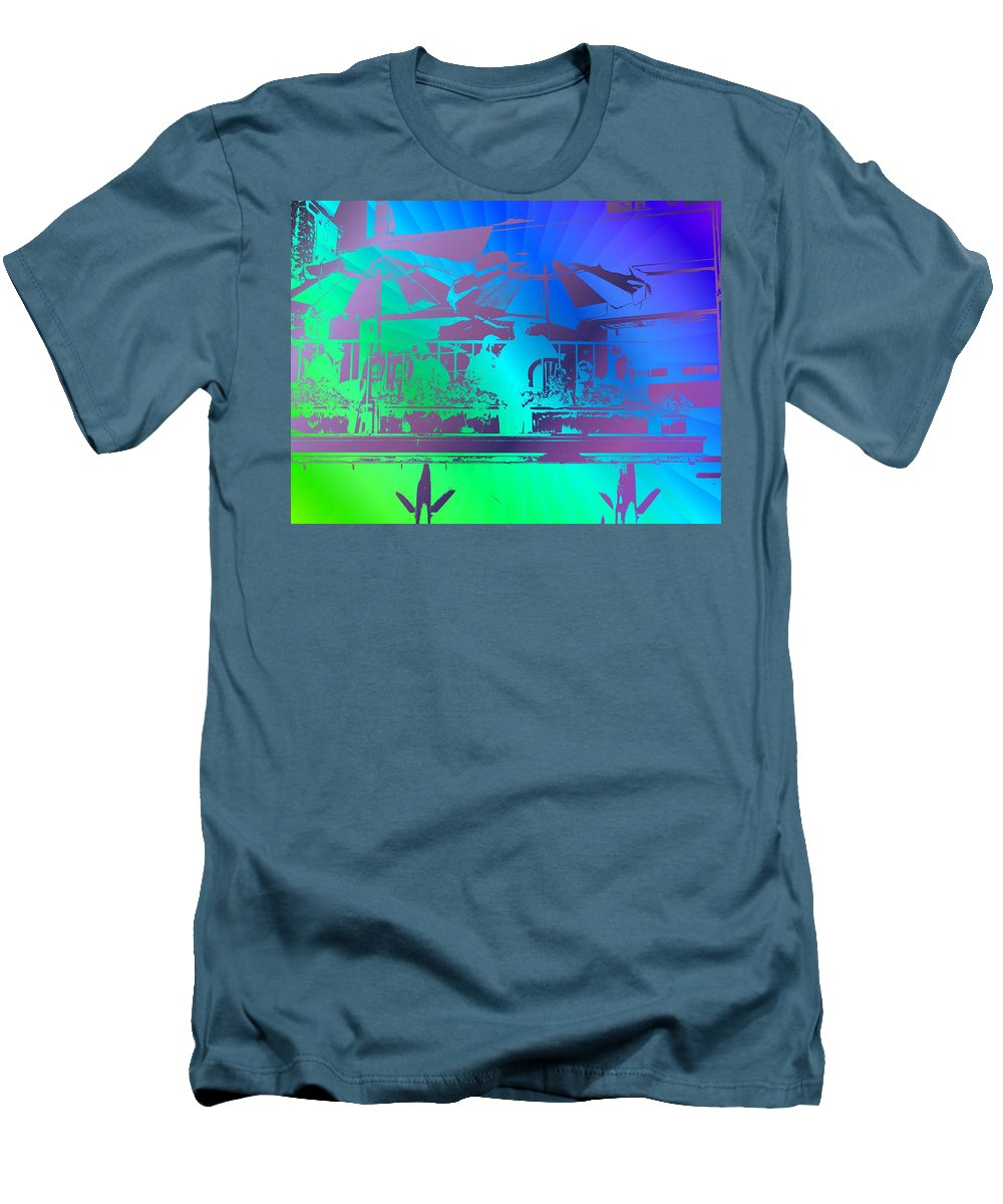 Seattle Men's T-Shirt (Athletic Fit) featuring the photograph Copacabana by Tim Allen