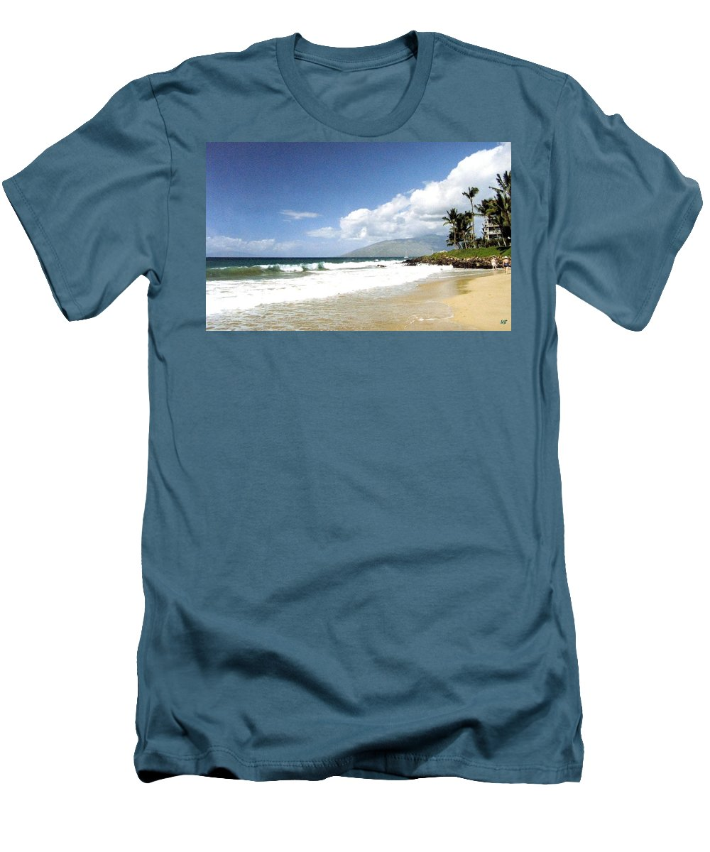 1986 Men's T-Shirt (Athletic Fit) featuring the photograph Kihei by Will Borden