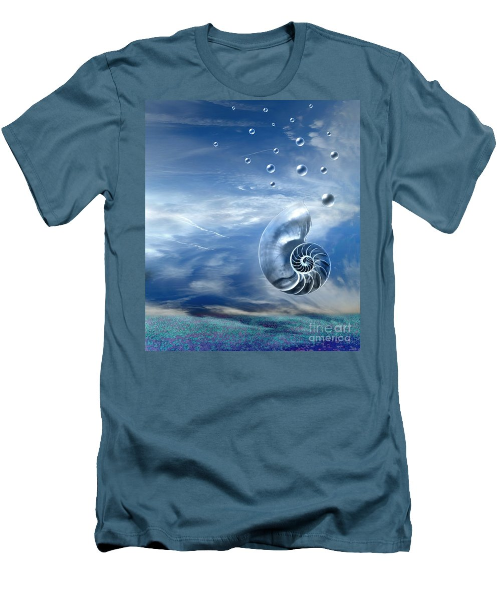 Surreal Men's T-Shirt (Athletic Fit) featuring the photograph Life by Jacky Gerritsen