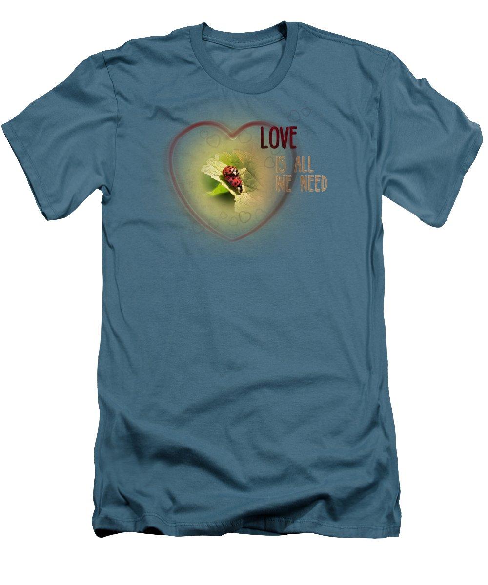 Ladybug Slim Fit T-Shirts
