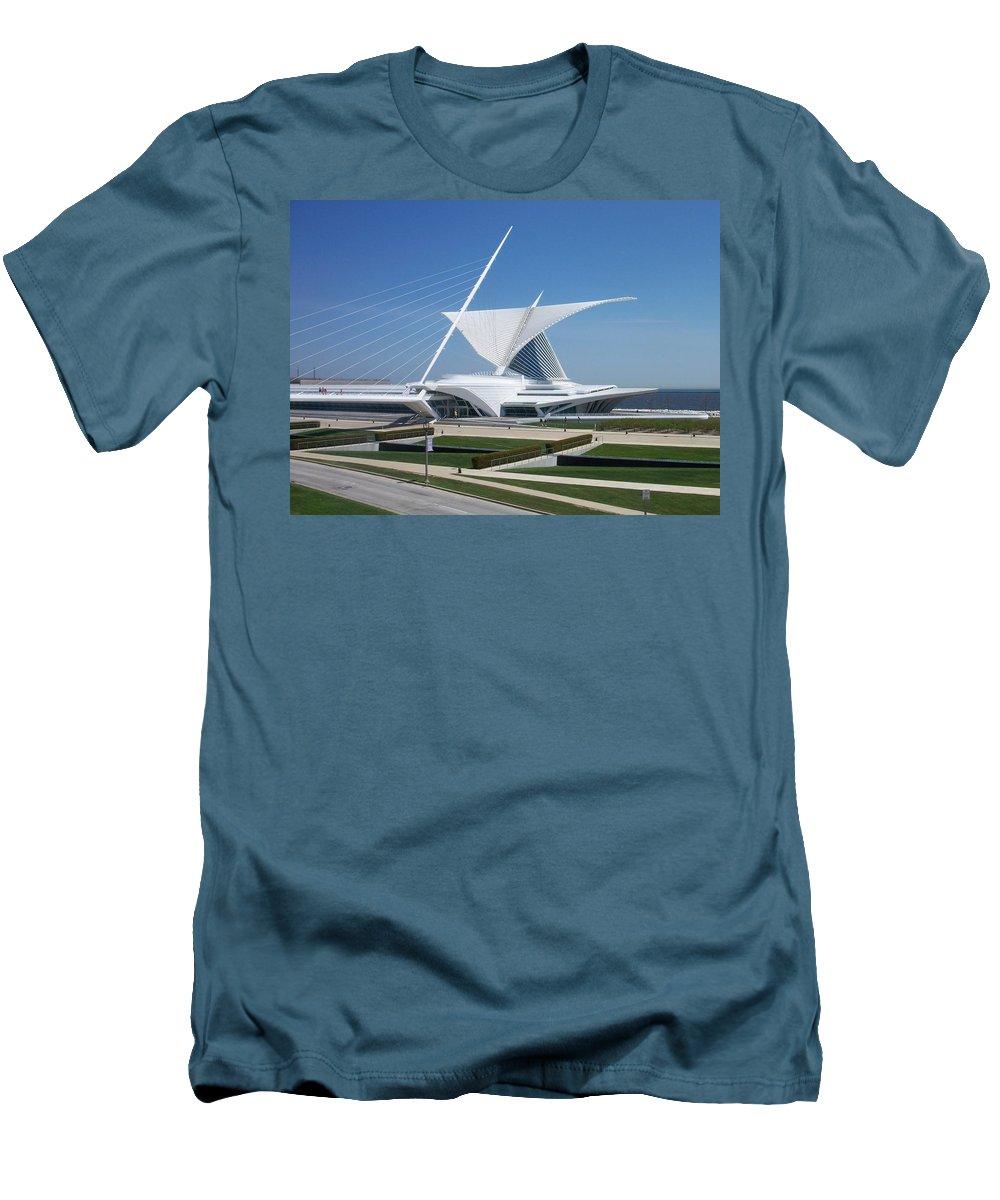 Mam Men's T-Shirt (Athletic Fit) featuring the photograph Mam Caltrava by Anita Burgermeister