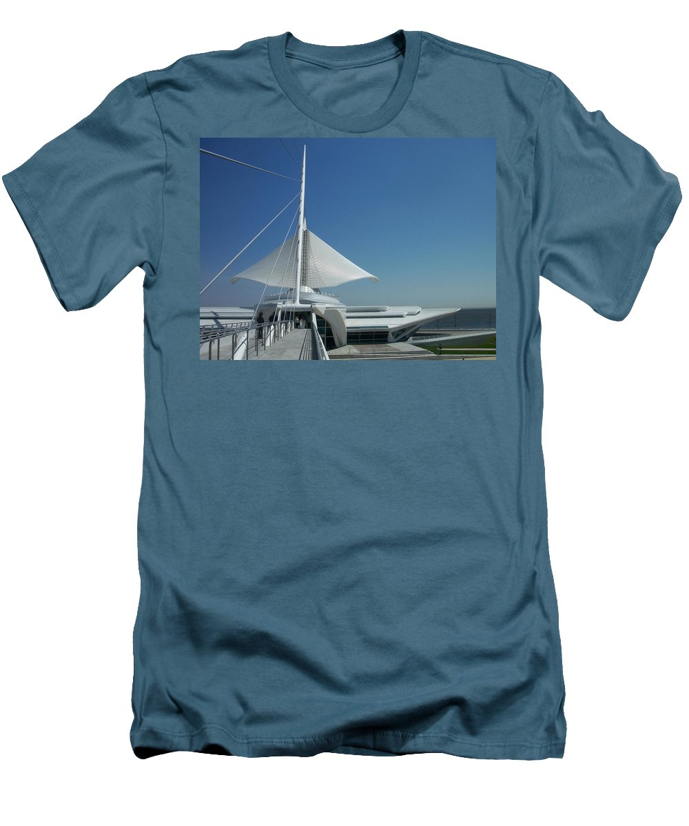 Mam Men's T-Shirt (Athletic Fit) featuring the photograph Mam Series 2 by Anita Burgermeister