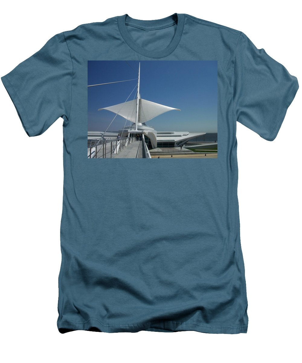 Mam Men's T-Shirt (Athletic Fit) featuring the photograph Mam Series 3 by Anita Burgermeister