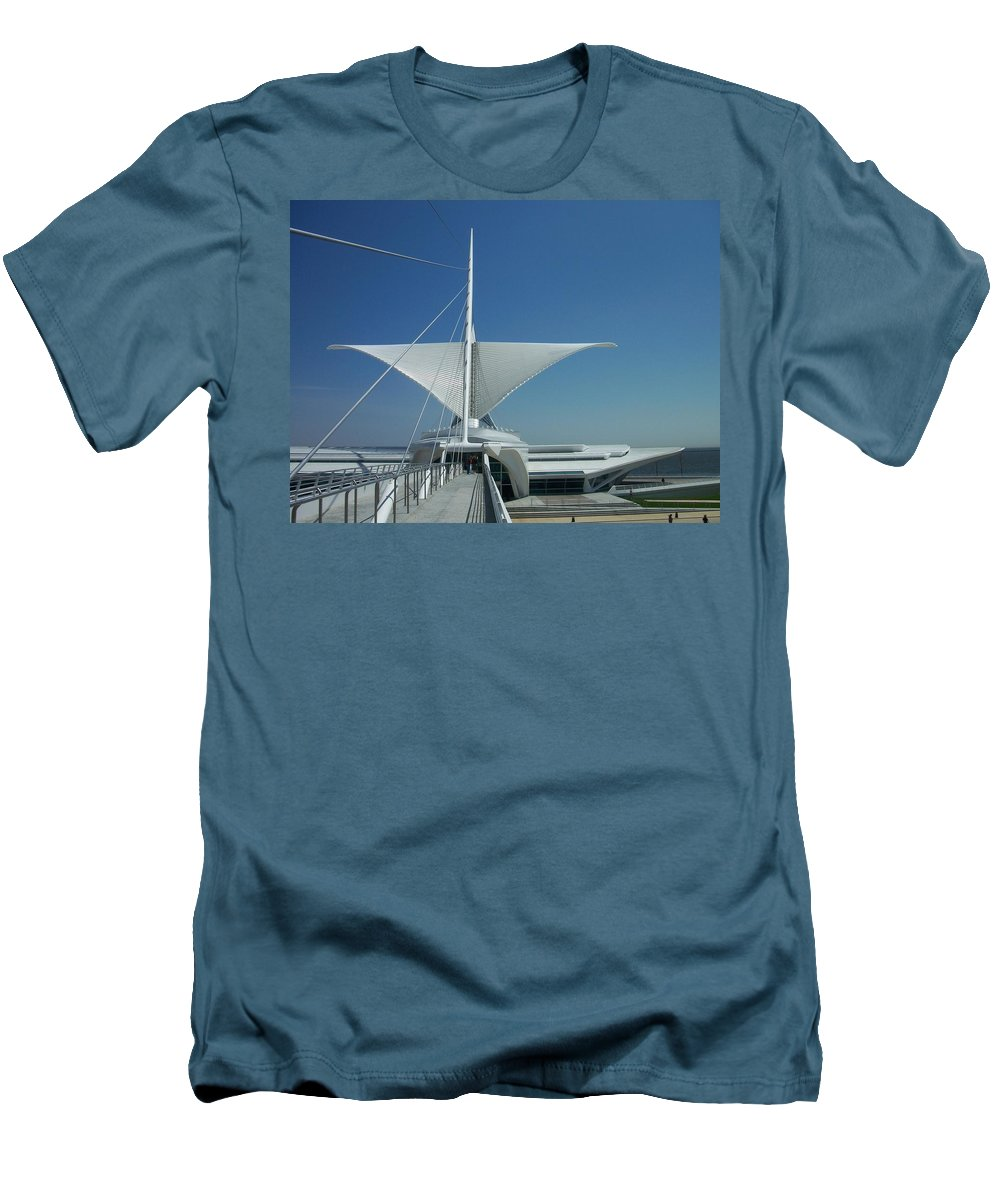 Mam Men's T-Shirt (Athletic Fit) featuring the photograph Mam Series 4 by Anita Burgermeister