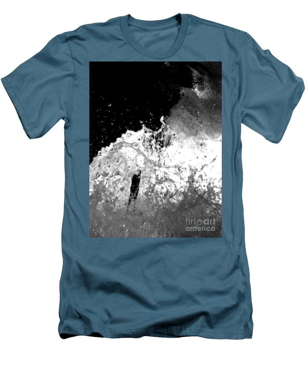 Water Men's T-Shirt (Athletic Fit) featuring the photograph Natural Power by Amanda Barcon