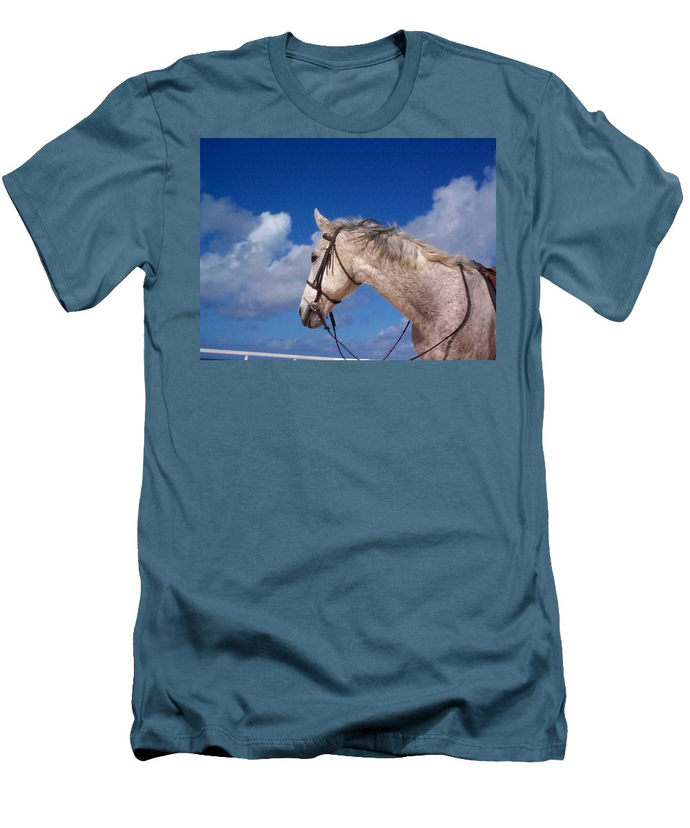 Charity Men's T-Shirt (Athletic Fit) featuring the photograph Pancho by Mary-Lee Sanders