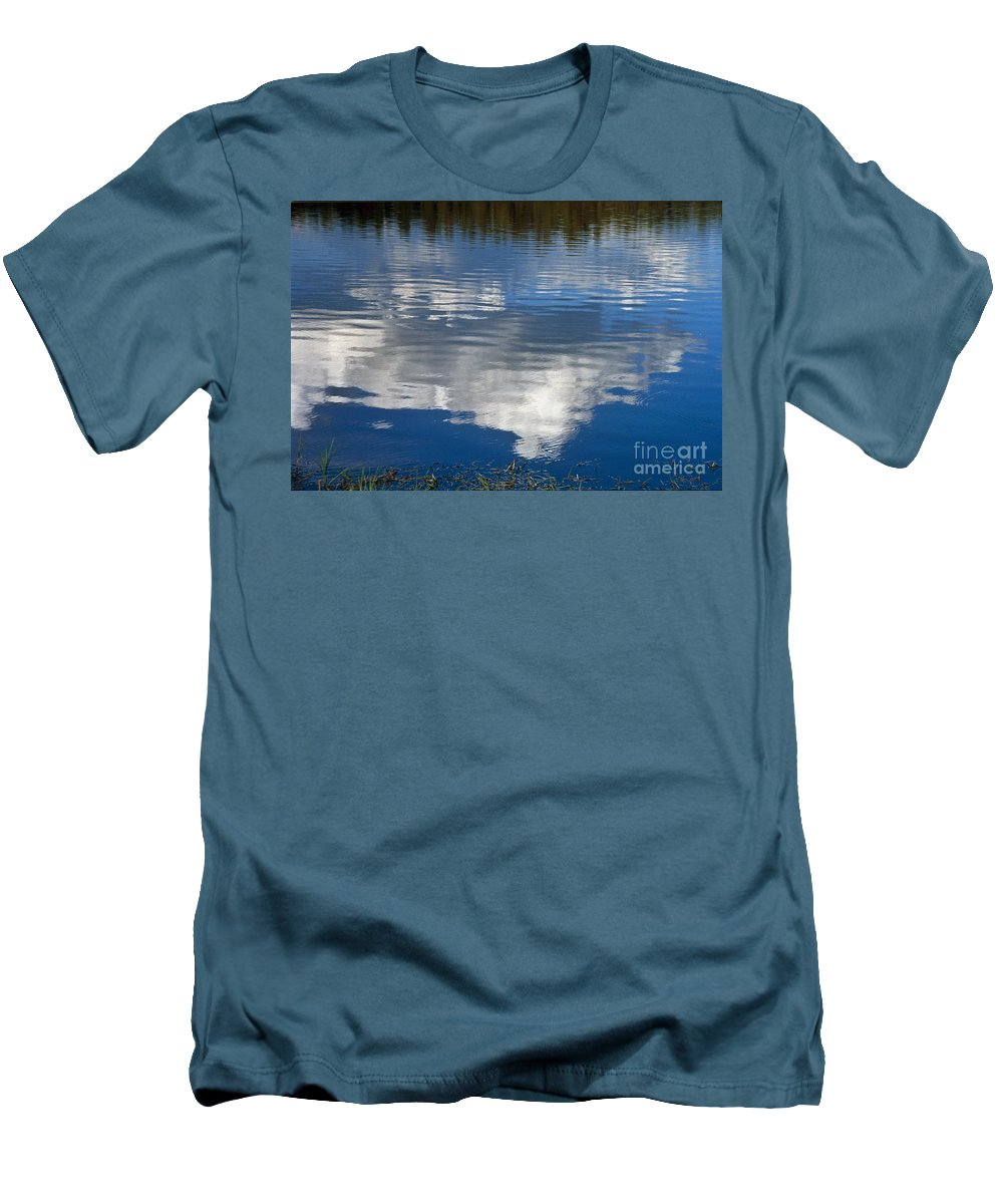 Landscape Men's T-Shirt (Athletic Fit) featuring the photograph Peace by Kathy McClure