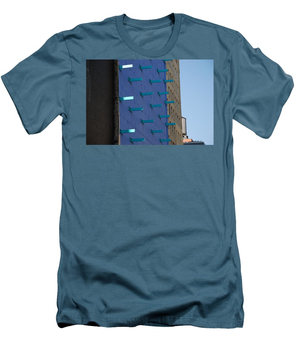 Architecture Men's T-Shirt (Athletic Fit) featuring the photograph Peg Board by Rob Hans