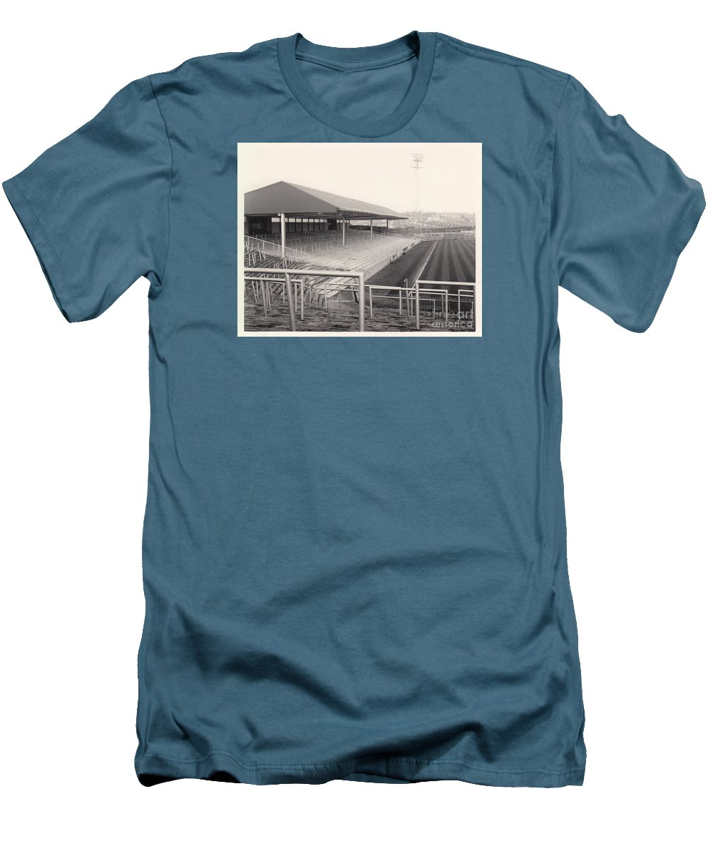 Mens T Shirt Athletic Fit Featuring The Photograph Plymouth Argyle