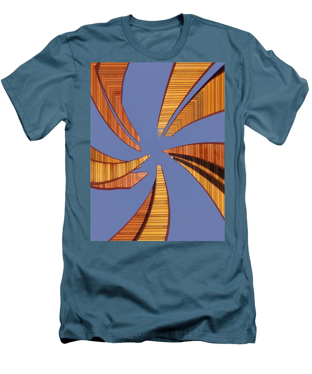 Seattle Men's T-Shirt (Athletic Fit) featuring the digital art Reeds 2 by Tim Allen