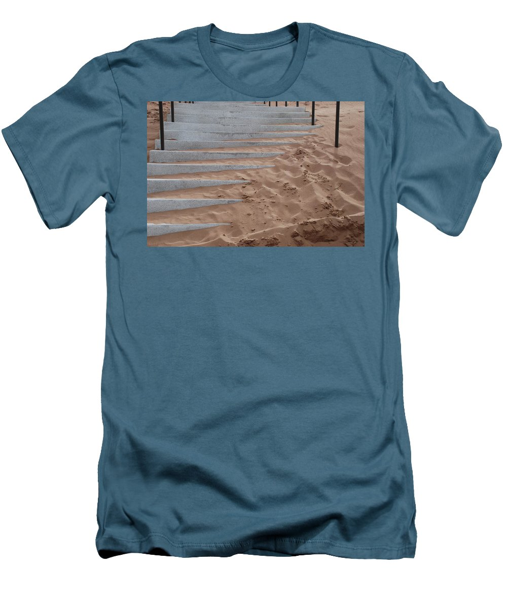 Pop Art Men's T-Shirt (Athletic Fit) featuring the photograph Sands Of Time by Rob Hans