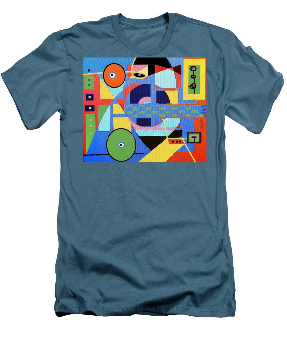 Digital Drawing Men's T-Shirt (Athletic Fit) featuring the digital art Scorpion King by Ian MacDonald