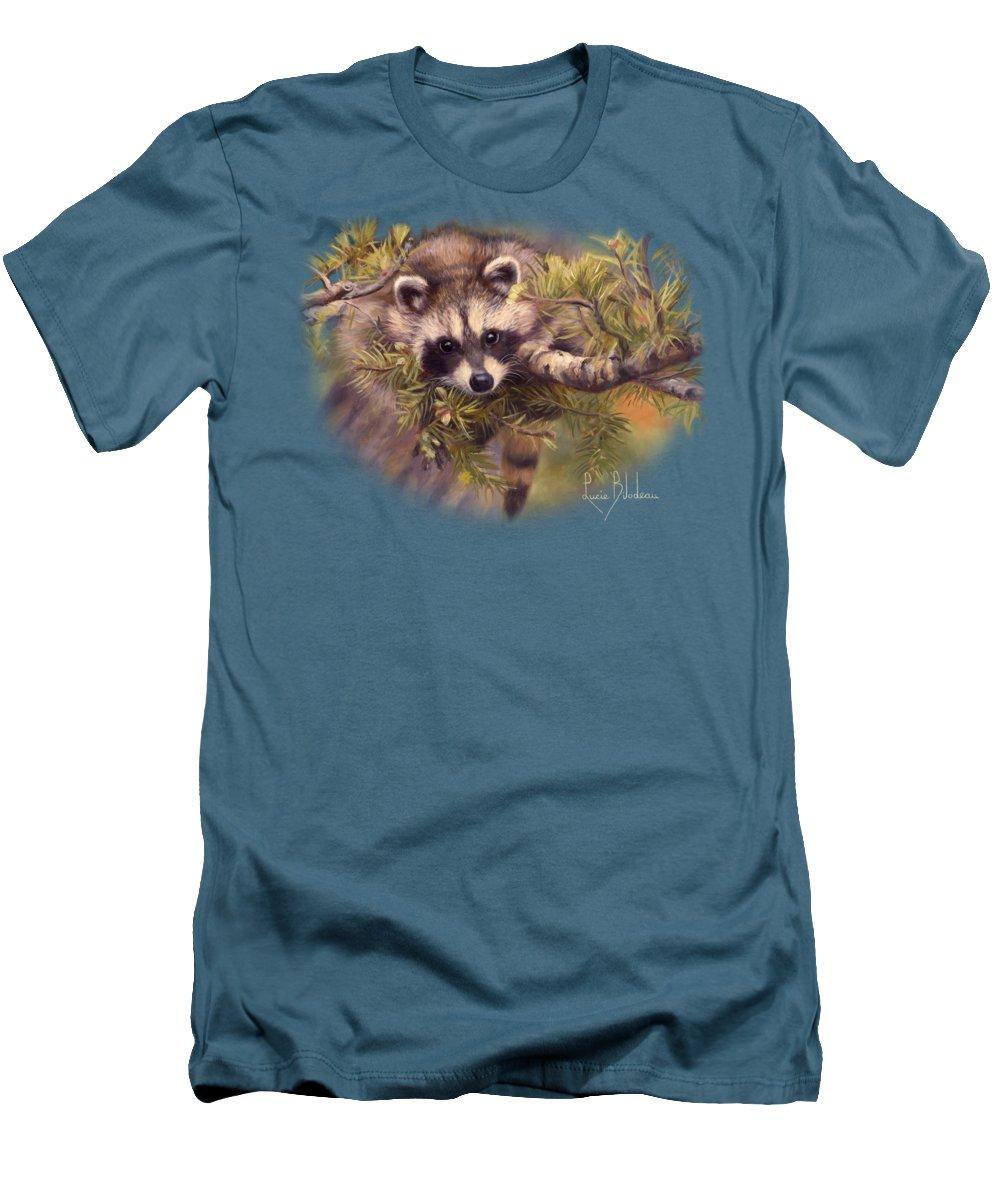 Raccoon Slim Fit T-Shirts