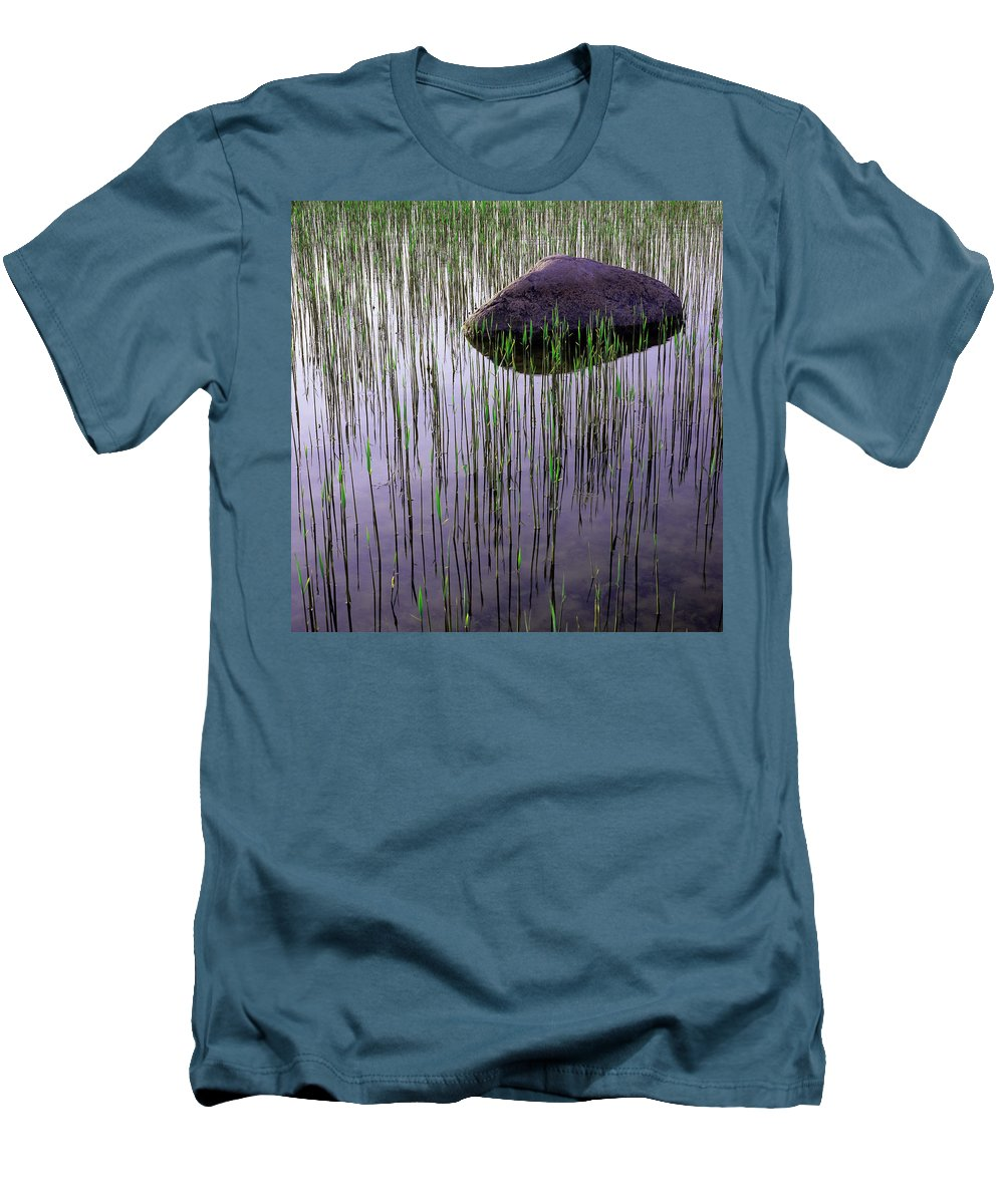 Art Men's T-Shirt (Athletic Fit) featuring the photograph Serenity by Konstantin Dikovsky