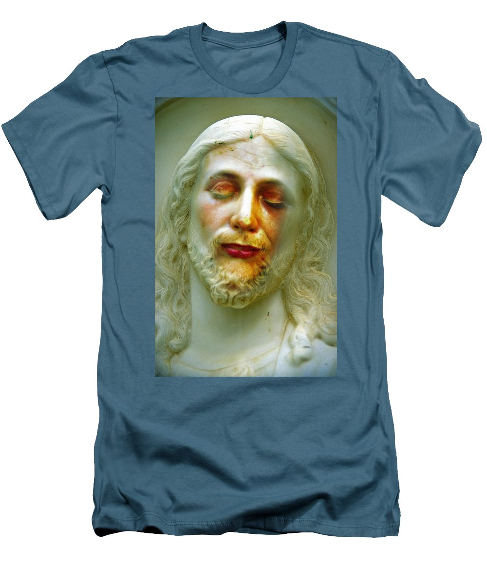 Jesus Men's T-Shirt (Athletic Fit) featuring the photograph Shesus by Skip Hunt