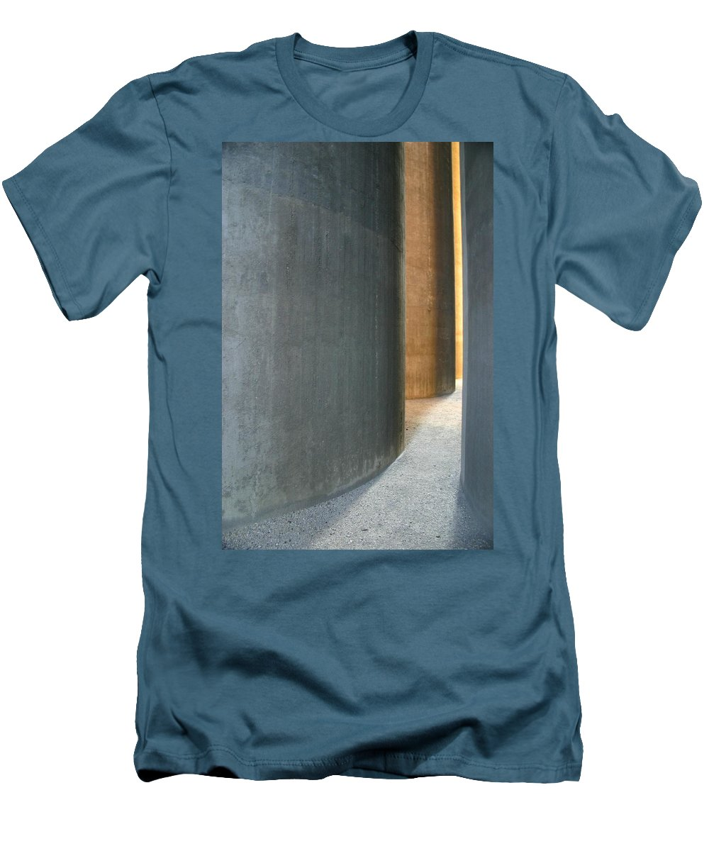 Silver Men's T-Shirt (Athletic Fit) featuring the photograph Silver And Gold In Belgium by Minaz Jantz