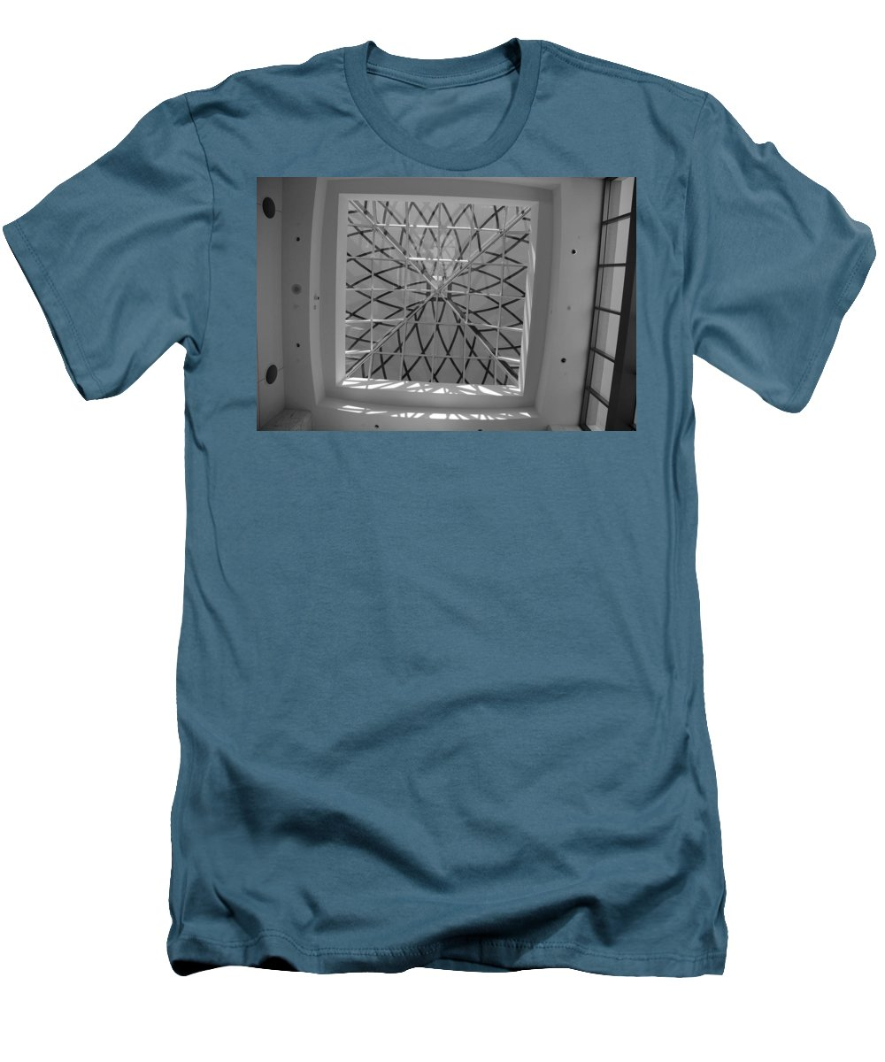 Sky Light Men's T-Shirt (Athletic Fit) featuring the photograph Sky Light by Rob Hans