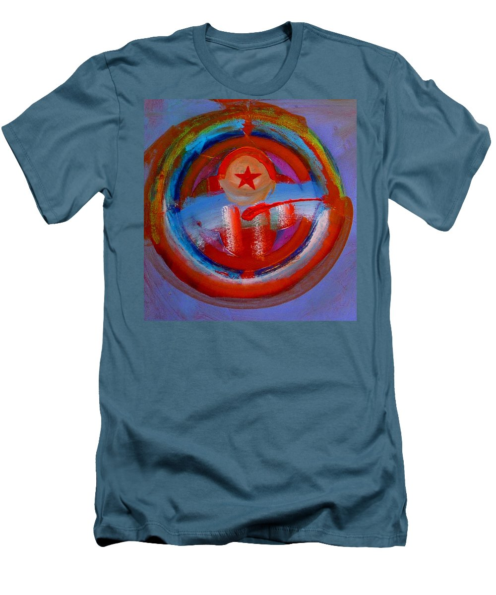 Love Men's T-Shirt (Athletic Fit) featuring the painting Star Of The Sea by Charles Stuart