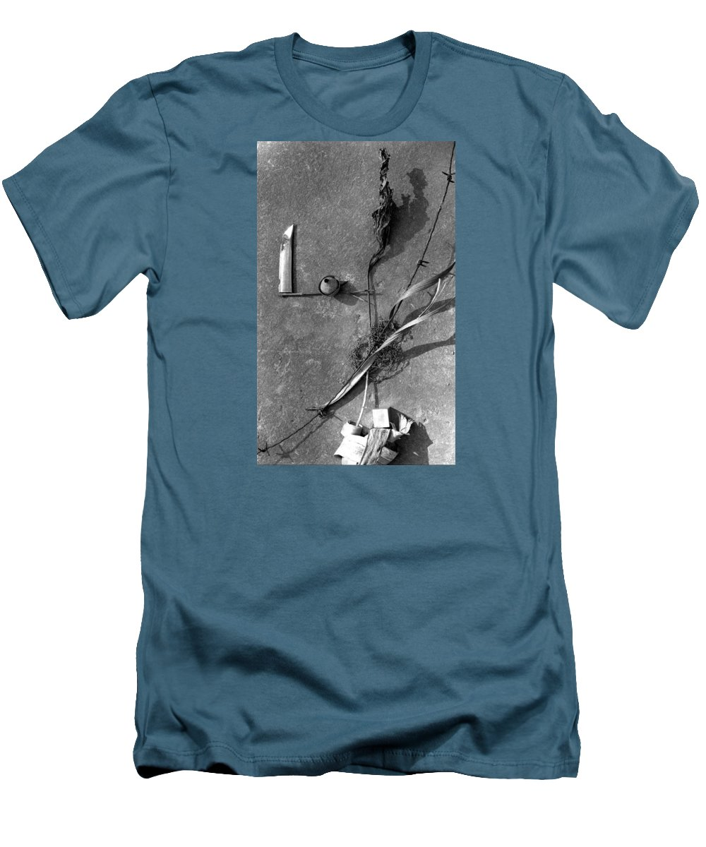 Still Life Men's T-Shirt (Athletic Fit) featuring the photograph Still Forms by Ted M Tubbs