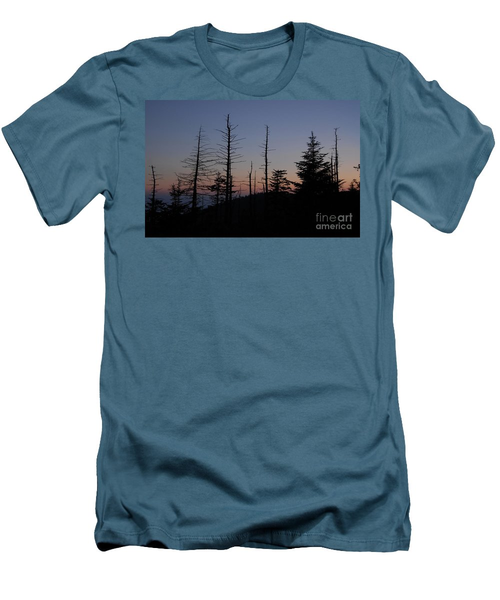 Wilderness Men's T-Shirt (Athletic Fit) featuring the photograph Wilderness by David Lee Thompson