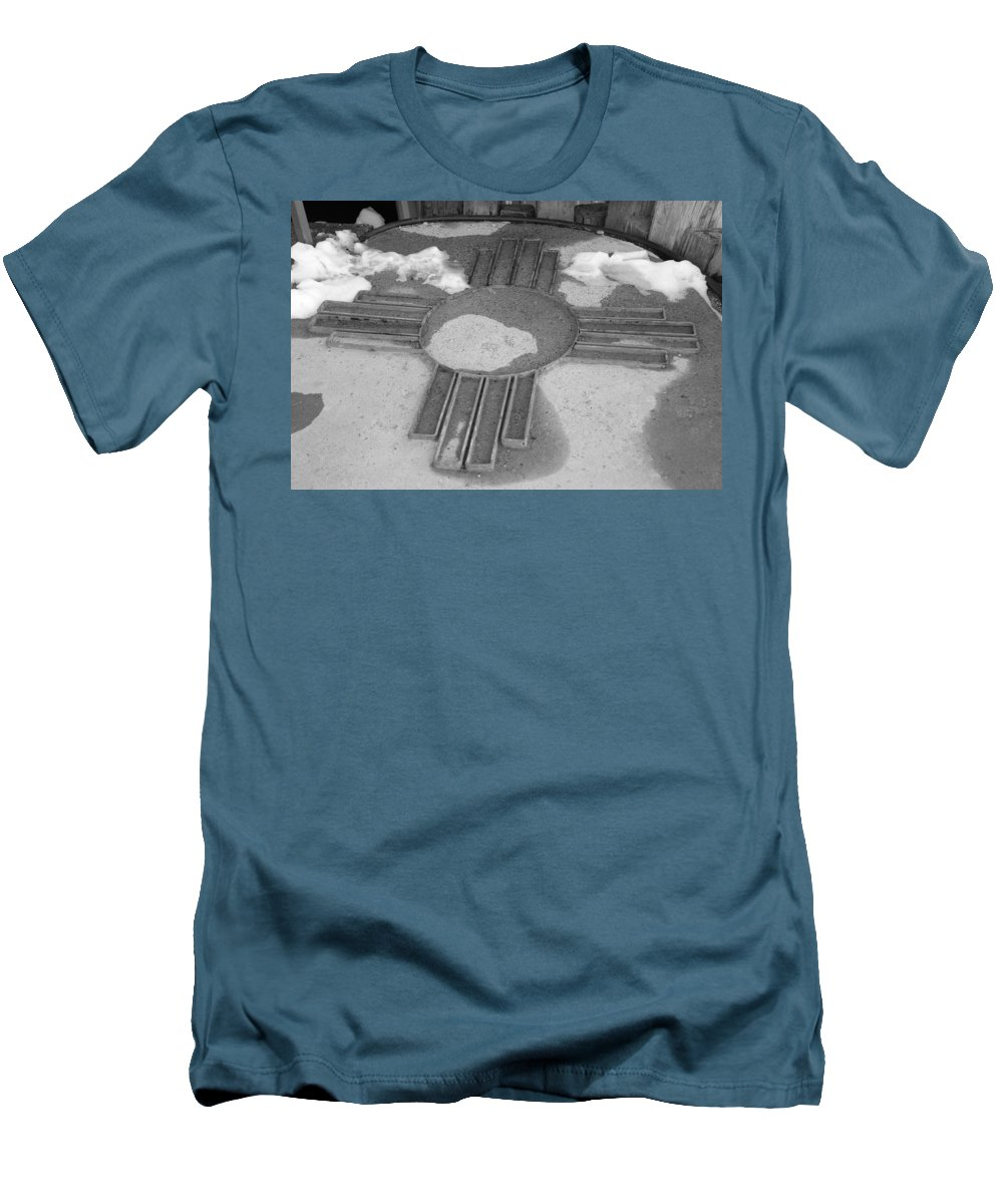 Zia Sun Men's T-Shirt (Athletic Fit) featuring the photograph Zia Sun by Rob Hans