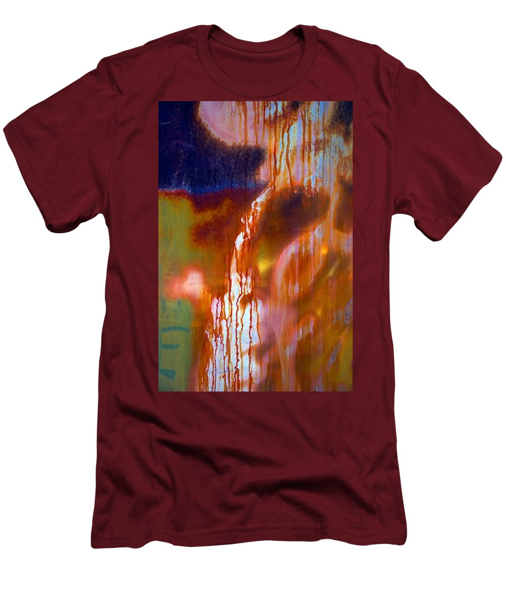 Skip Men's T-Shirt (Athletic Fit) featuring the photograph Cry Me A River by Skip Hunt