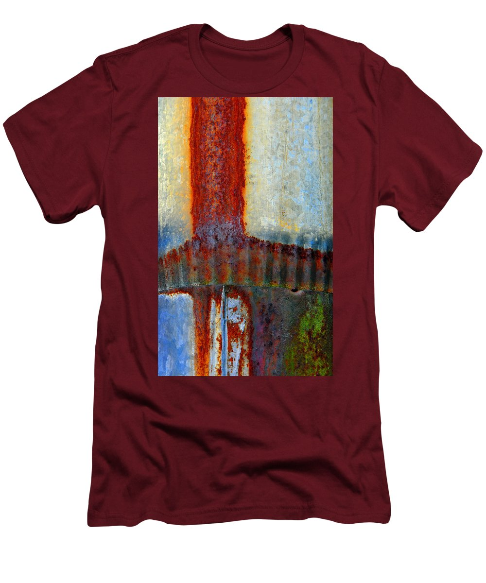 Skip Hunt Men's T-Shirt (Athletic Fit) featuring the photograph Magma by Skip Hunt