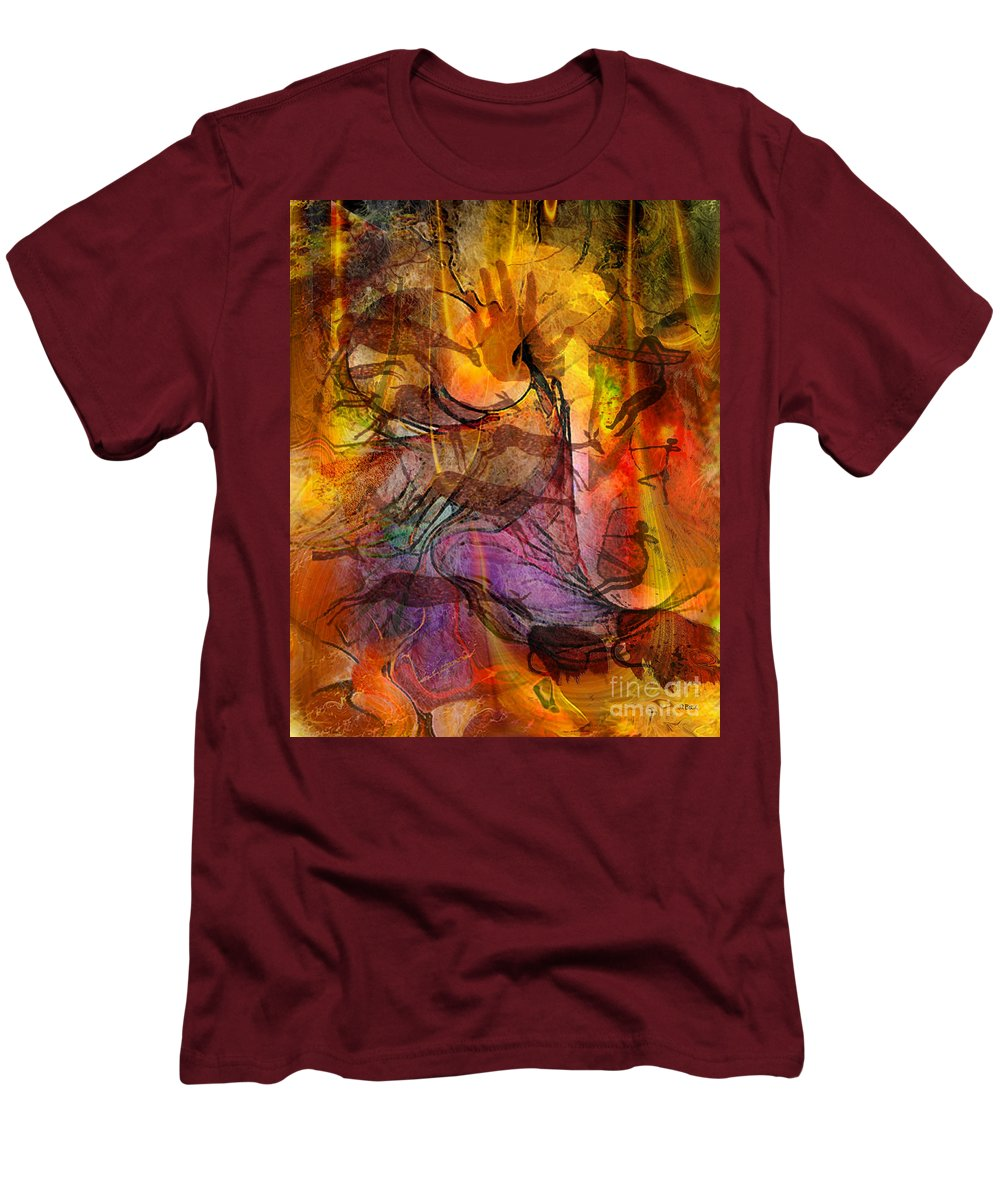 Shadow Hunters Men's T-Shirt (Athletic Fit) featuring the digital art Shadow Hunters by John Beck
