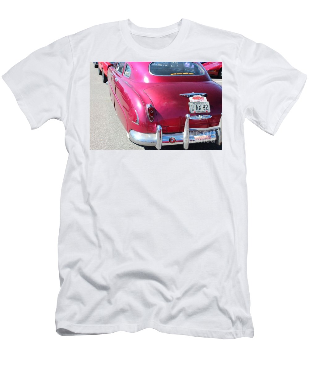 Hudson Prints Men's T-Shirt (Athletic Fit) featuring the photograph   Hudson by R A W M