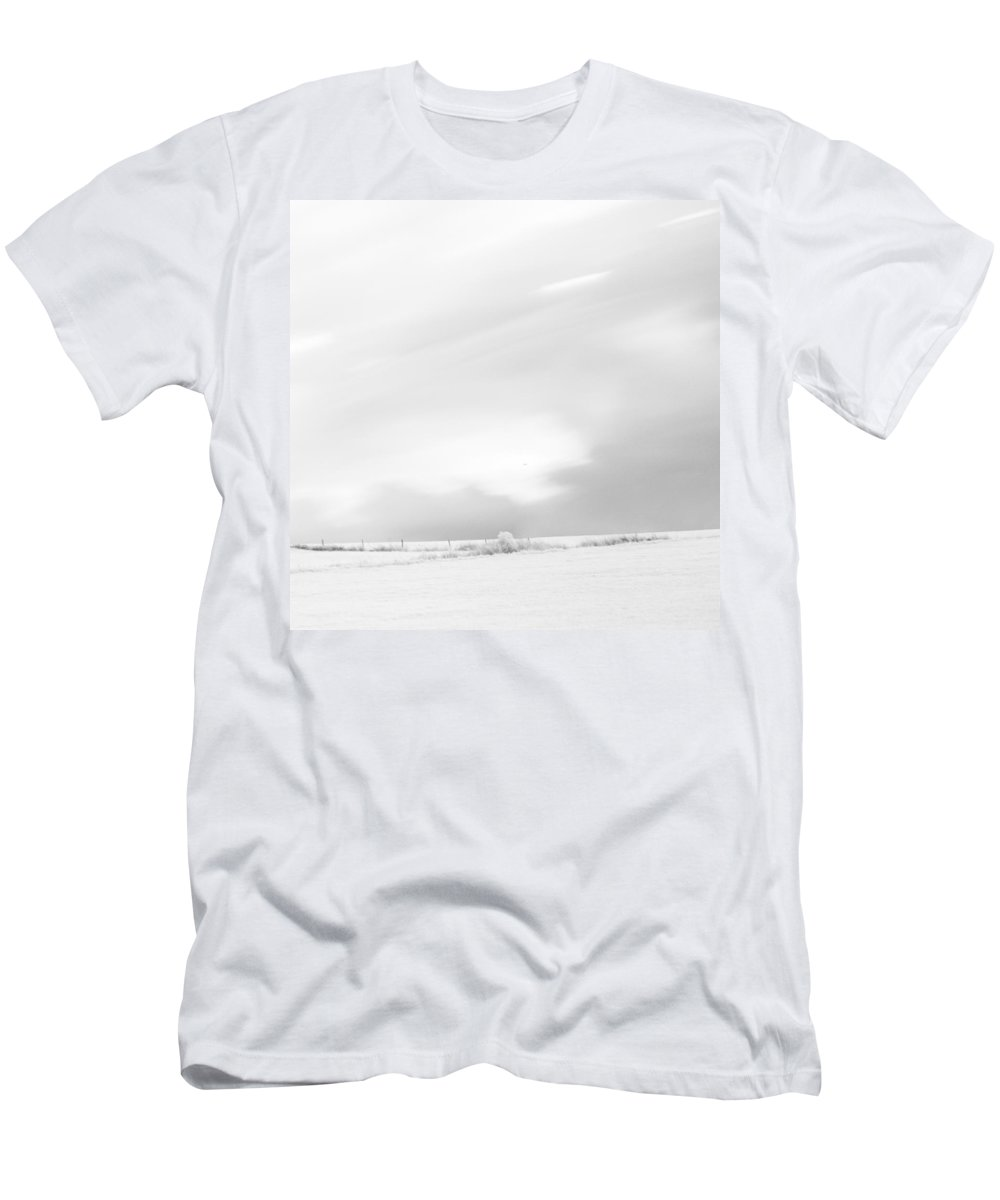 Autumn Men's T-Shirt (Athletic Fit) featuring the photograph Black And White Square Diptych Tree 13-0747 Set 2 Of 2 by U Schade