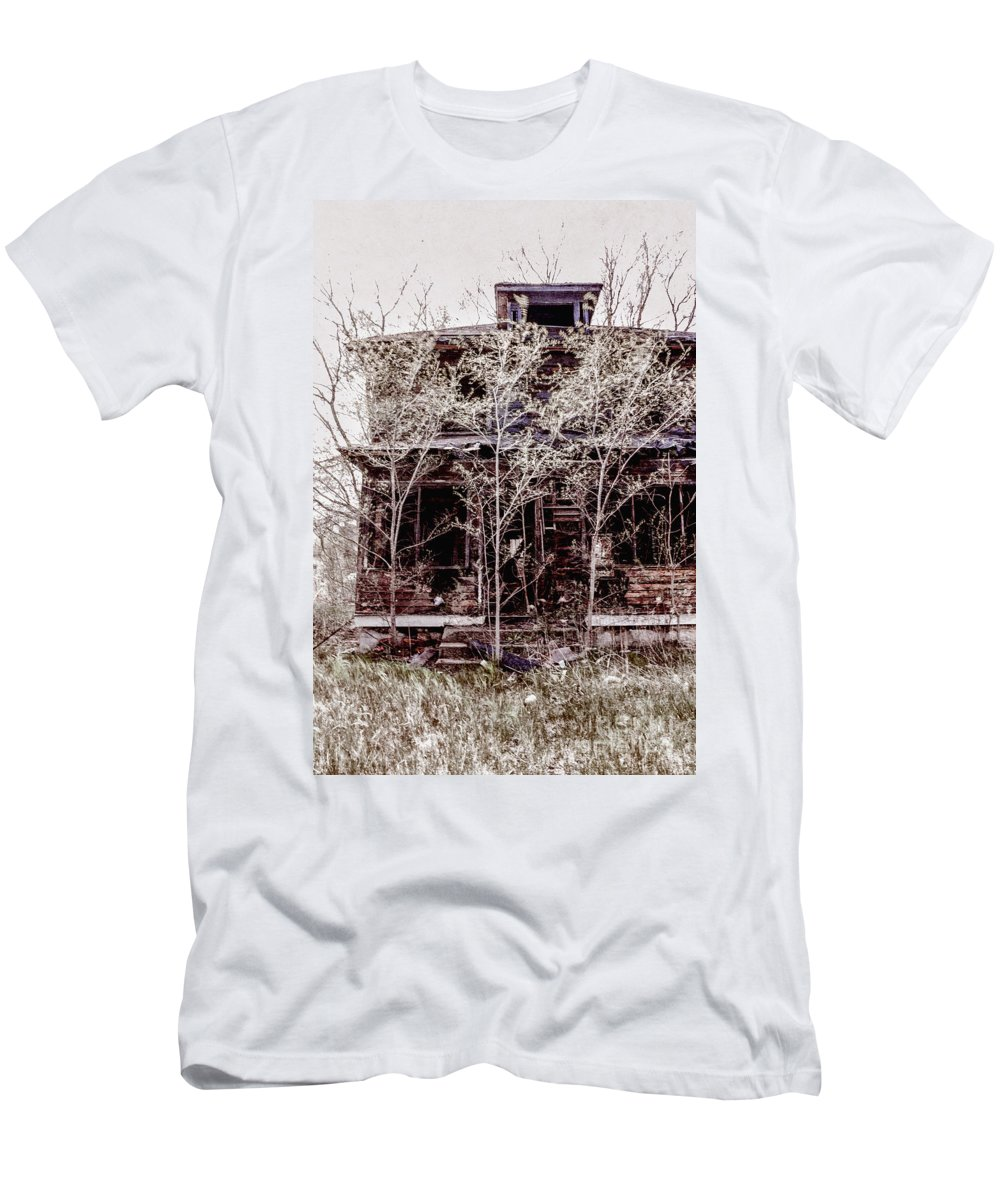 House Men's T-Shirt (Athletic Fit) featuring the photograph Aftermath by Margie Hurwich