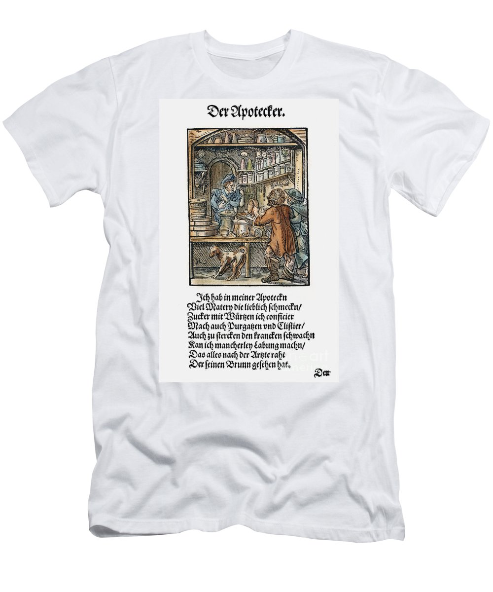 1568 Men's T-Shirt (Athletic Fit) featuring the photograph Apothecary, 1568 by Granger
