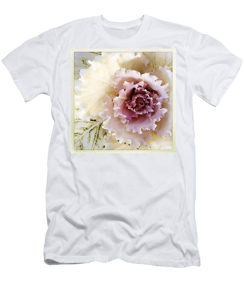 Flower Men's T-Shirt (Athletic Fit) featuring the photograph Flower by Les Cunliffe