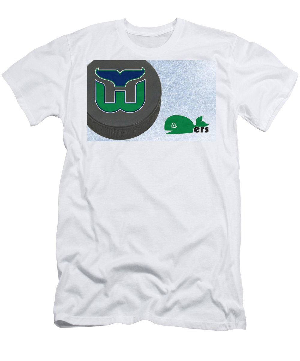 Whalers Men s T-Shirt (Athletic Fit) featuring the photograph Hartford  Whalers by Joe dfd621182