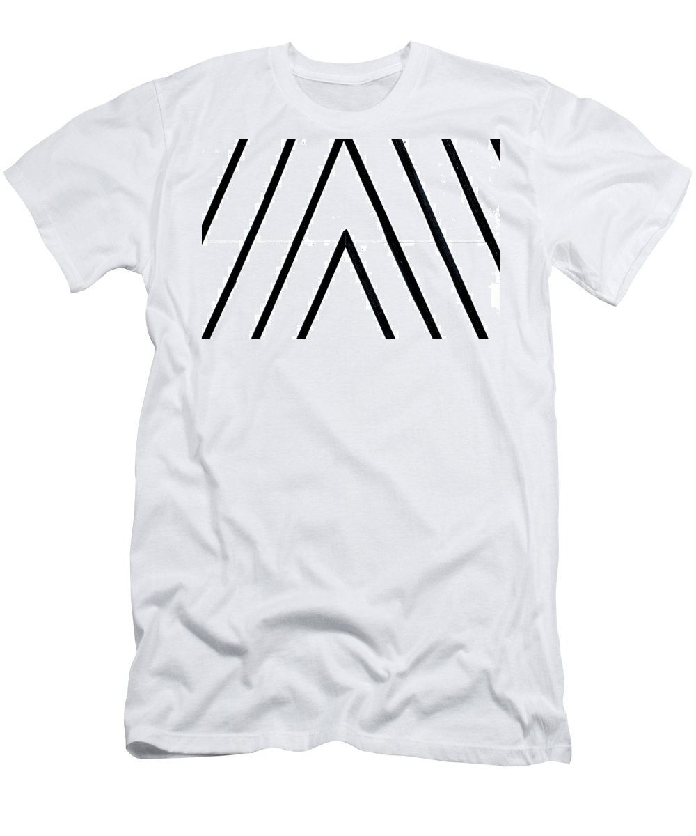 London Men's T-Shirt (Athletic Fit) featuring the photograph Lines by A Rey