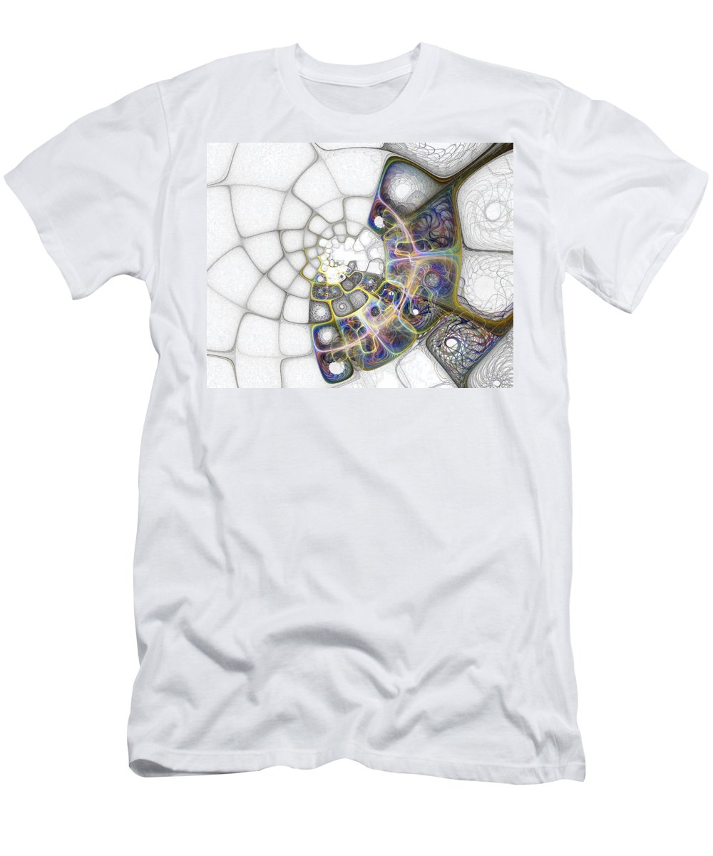 Digital Art Men's T-Shirt (Athletic Fit) featuring the digital art Memories by Amanda Moore
