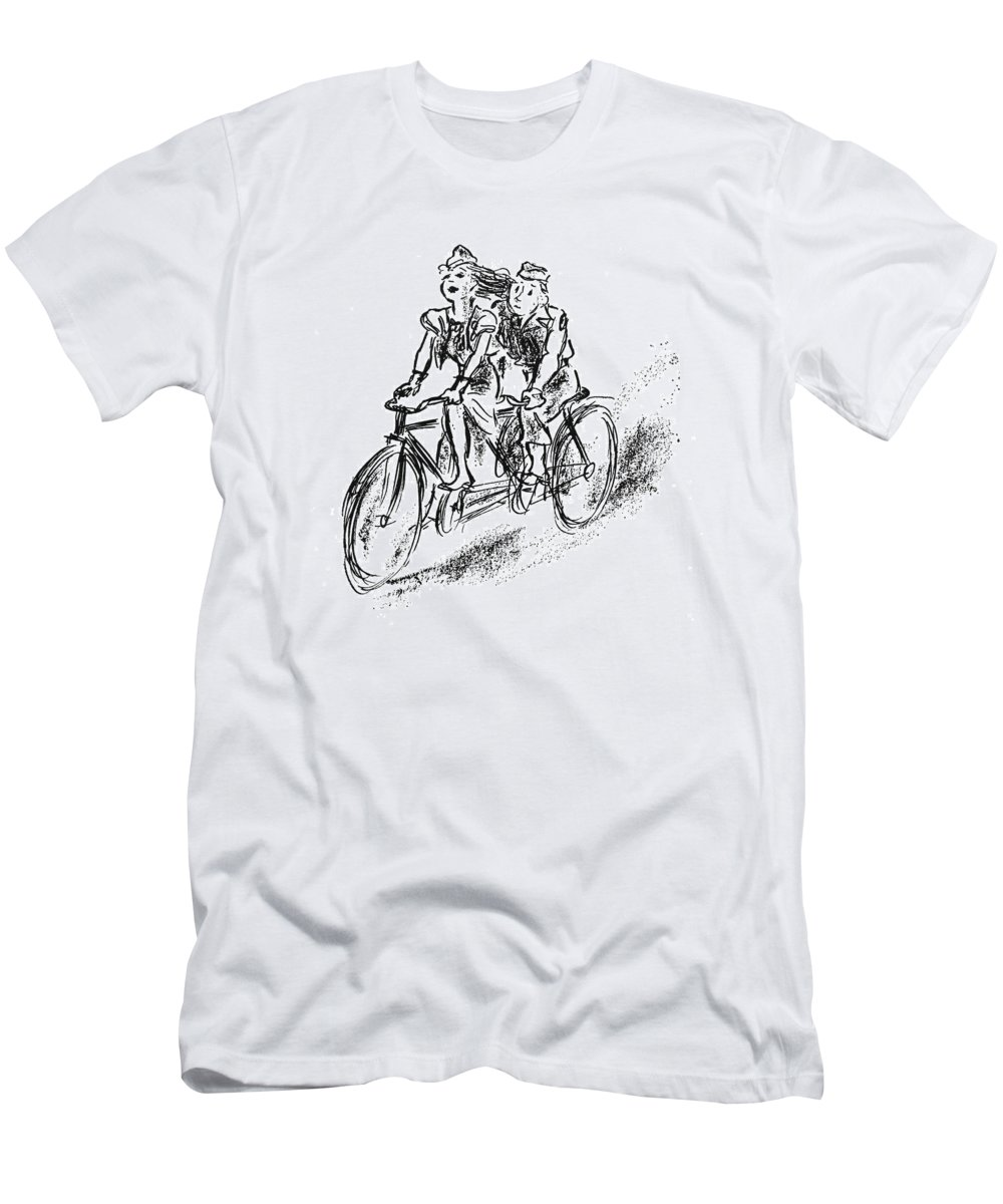 New Yorker September 30th 1944 T Shirt For Sale By Alan Dunn