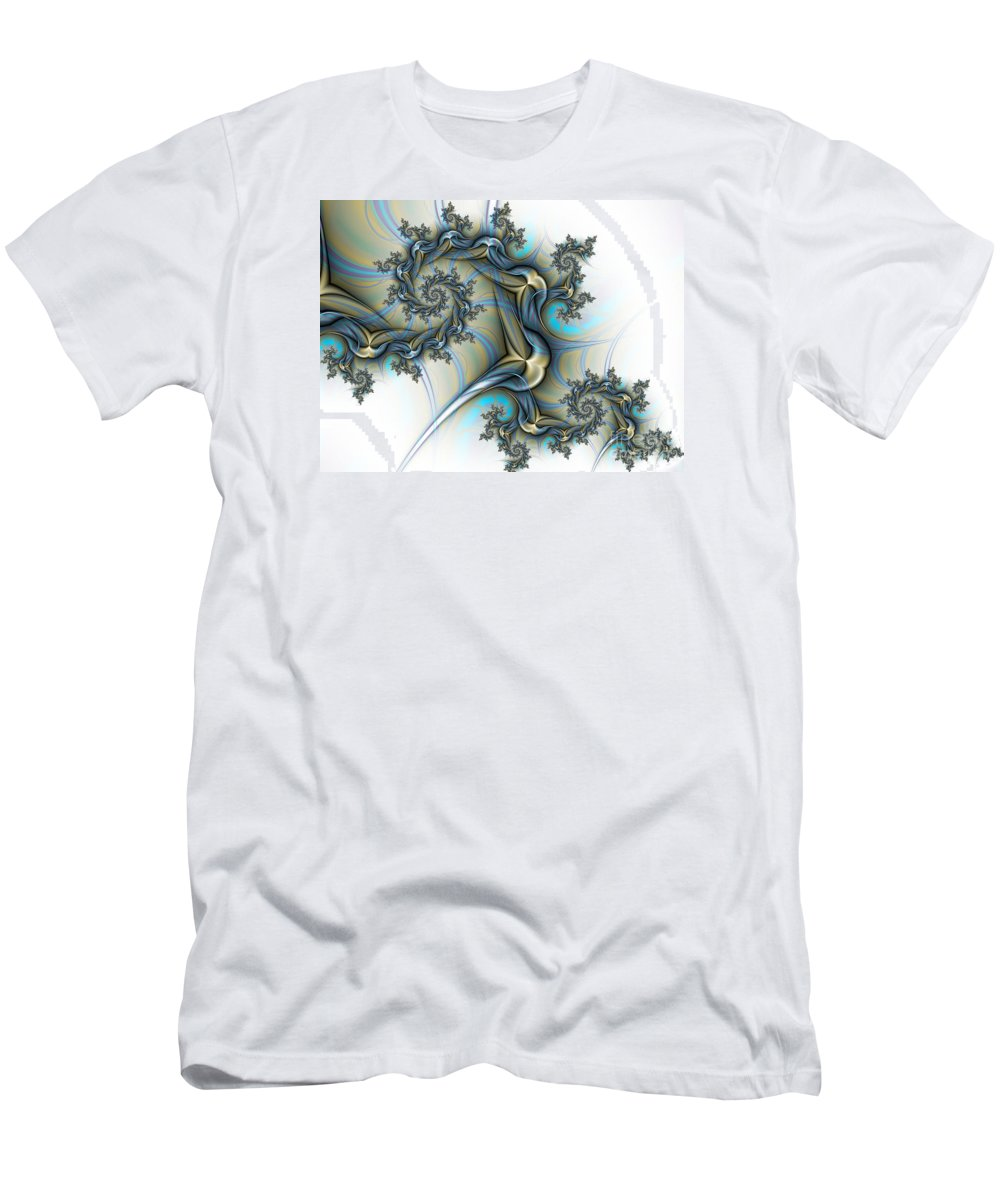 Tattoo Men's T-Shirt (Athletic Fit) featuring the digital art Tattoo by Lena Auxier