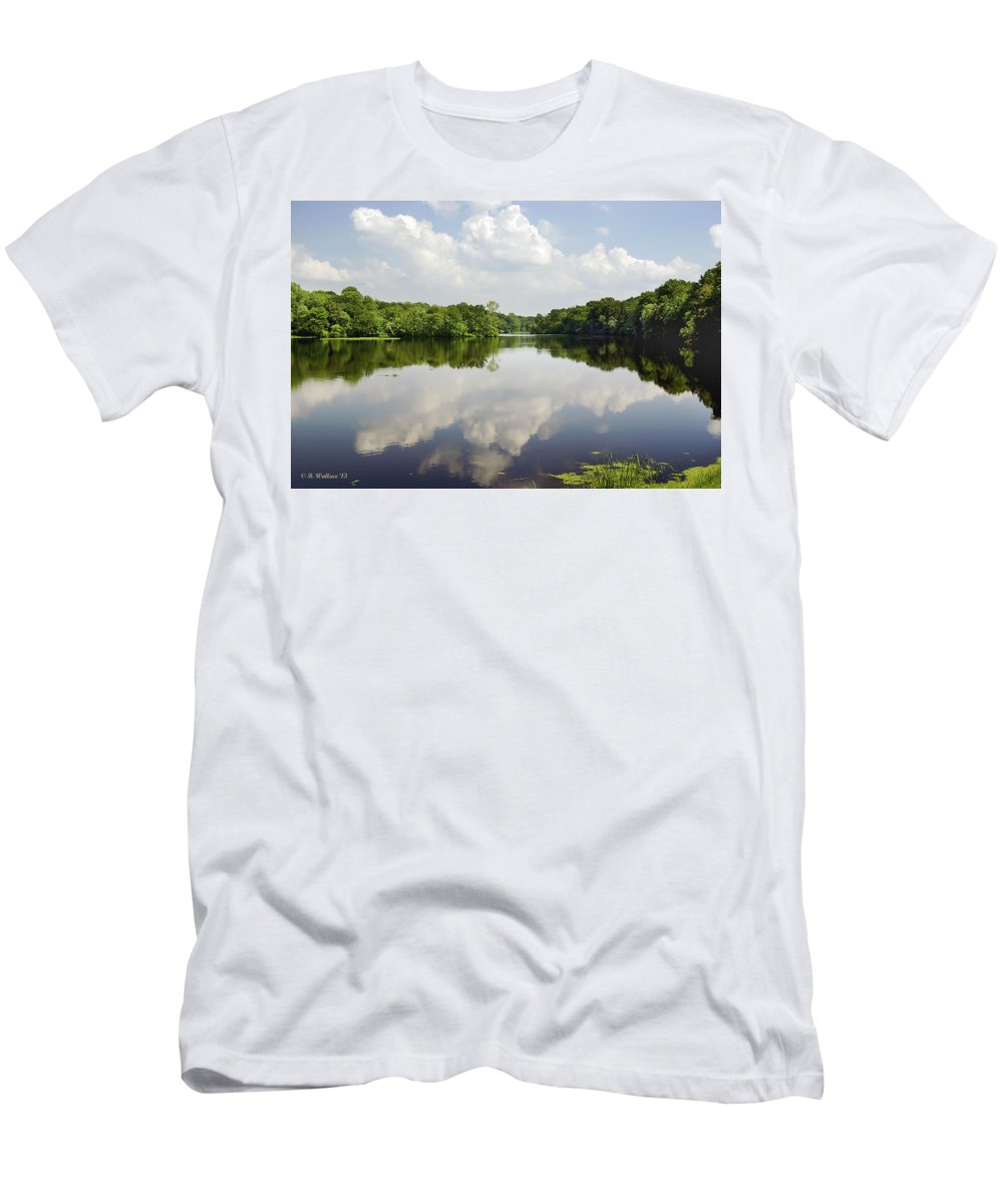 2d Men's T-Shirt (Athletic Fit) featuring the photograph Unicorn Lake by Brian Wallace