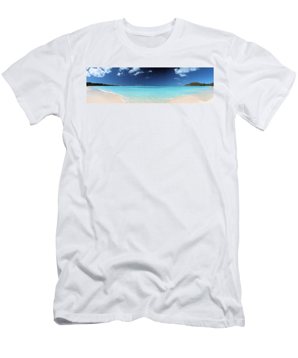 Blue Men's T-Shirt (Athletic Fit) featuring the photograph Rongate by John Holfinger