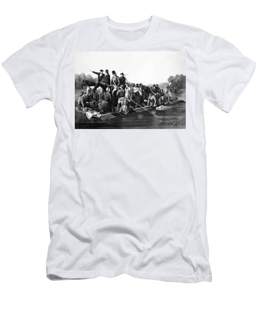 1778 Men's T-Shirt (Athletic Fit) featuring the photograph Francis Marion (1732?-1795) by Granger
