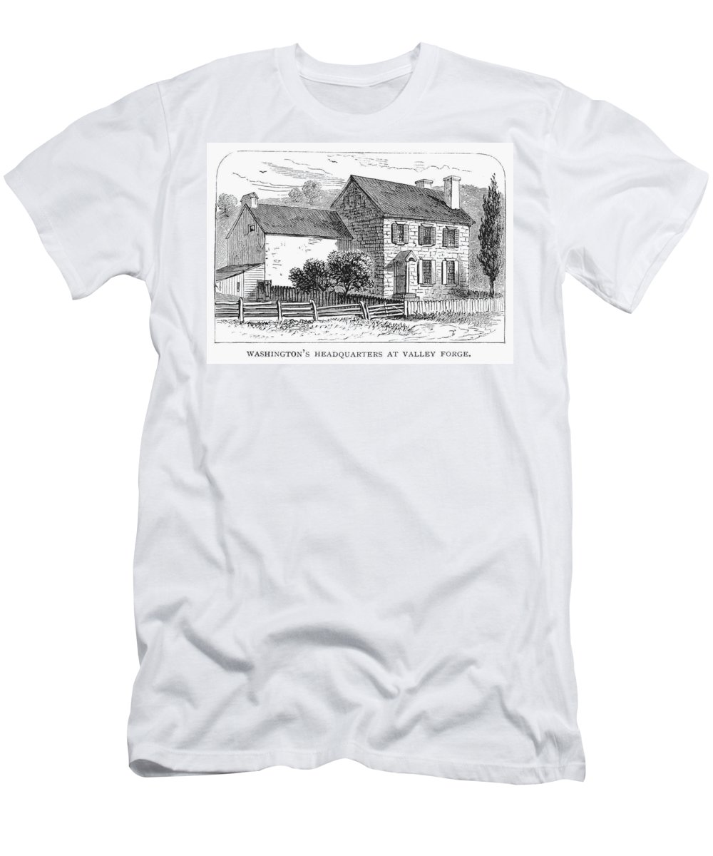 18th Century Men's T-Shirt (Athletic Fit) featuring the photograph Washington: Headquarters by Granger