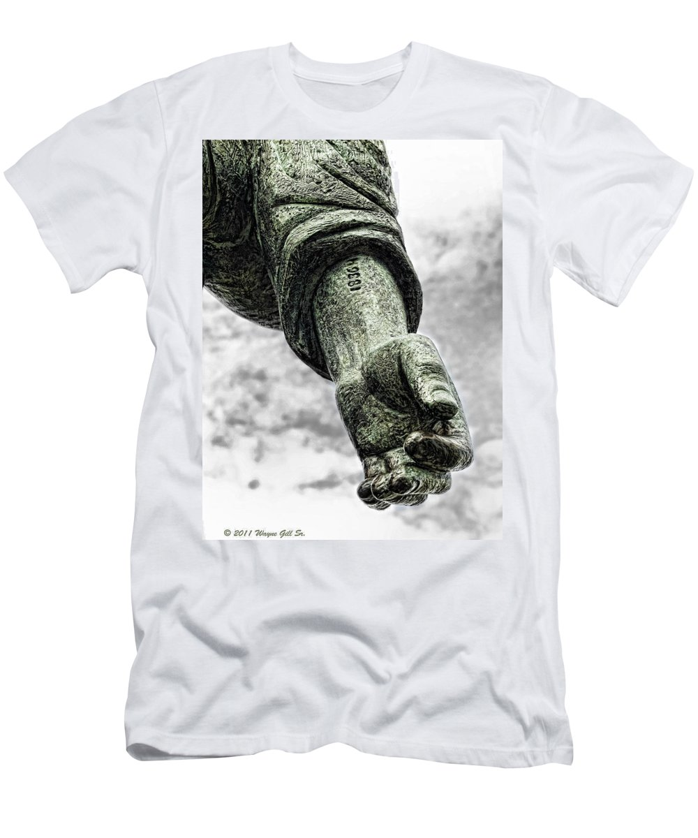 Liberated Men's T-Shirt (Athletic Fit) featuring the photograph 18364 by Wayne Gill