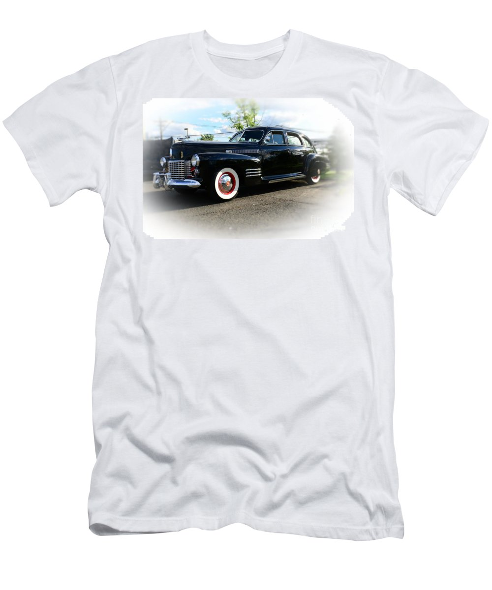 1941 Cadillac Coupe Men's T-Shirt (Athletic Fit) featuring the photograph 1941 Cadillac Coupe by Paul Ward