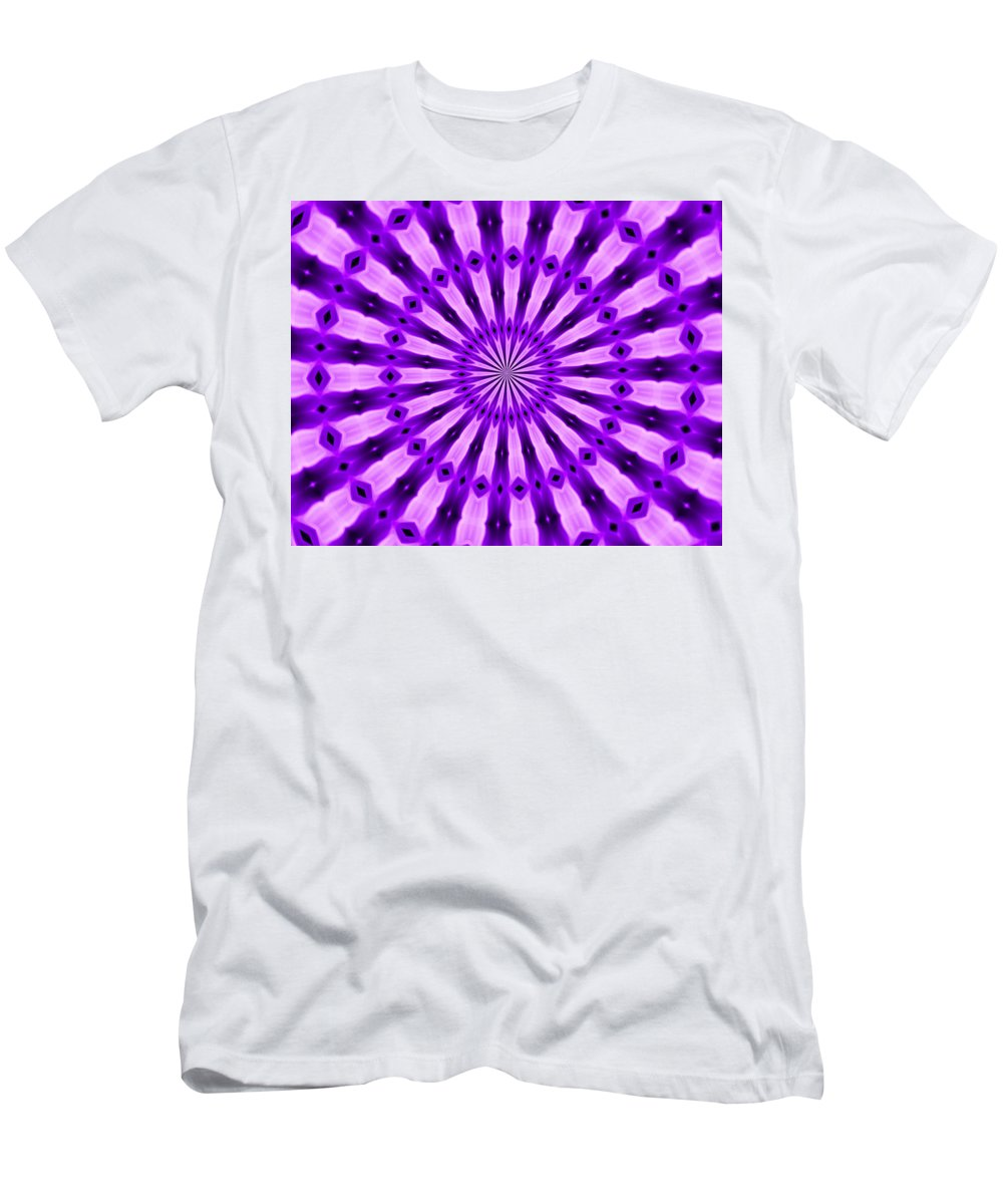 Original Men's T-Shirt (Athletic Fit) featuring the painting Abstract 122 by J D Owen