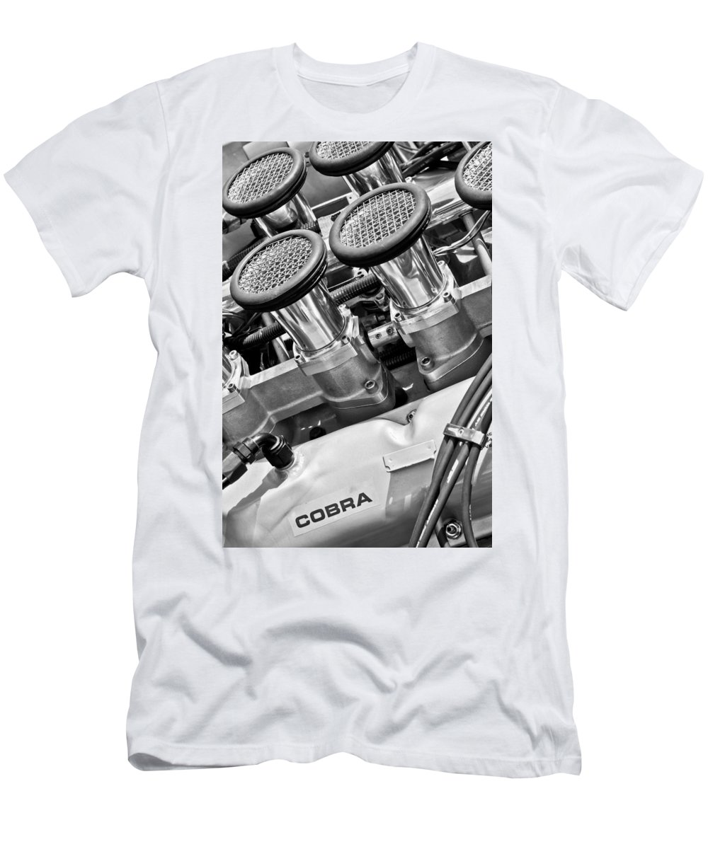 Cobra Engine Men's T-Shirt (Athletic Fit) featuring the photograph Cobra Engine by Jill Reger