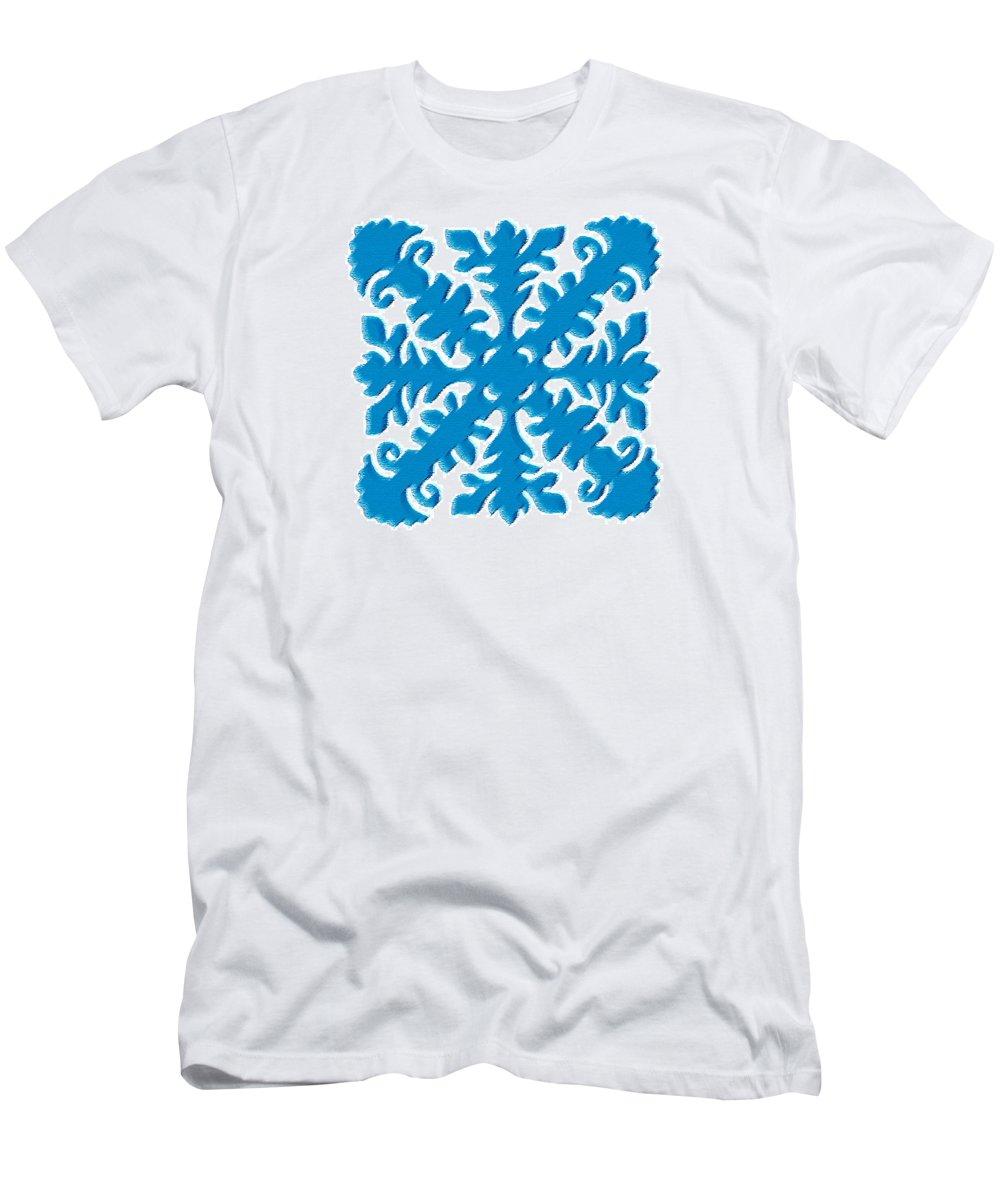 Lehua T-Shirt featuring the digital art Lehua by James Temple