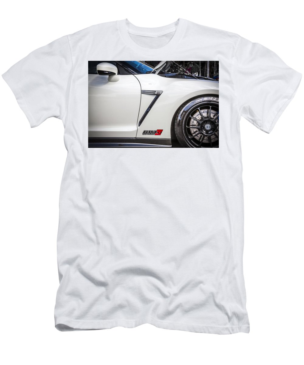 Super Cars T-Shirt featuring the photograph 2013 Nissan Alpha 9 Gt R by Rich Franco