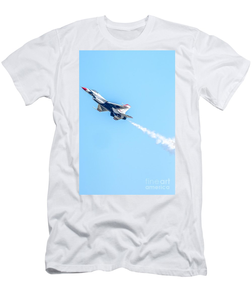 Thunderbirds Men's T-Shirt (Athletic Fit) featuring the photograph Thunderbird by Amel Dizdarevic
